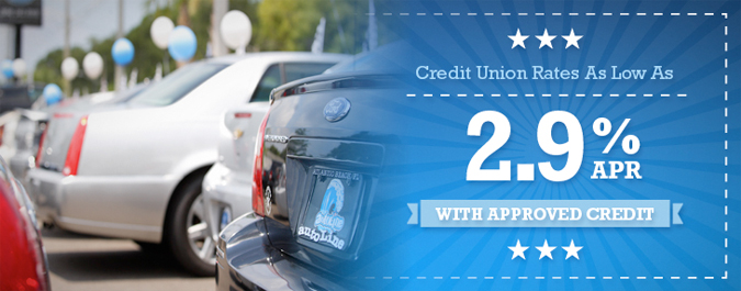 New Low Credit Union Rates!