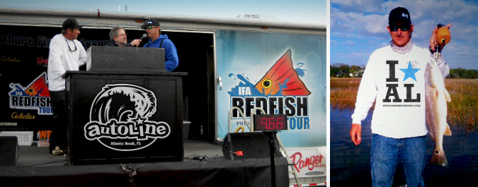 Autoline Sponsors IFA Redfish Tour Team!