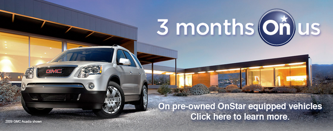 Get a free 3-month trial of OnStar