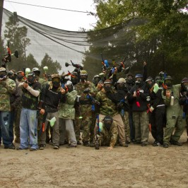 Autoline Christmas Party Paintball!