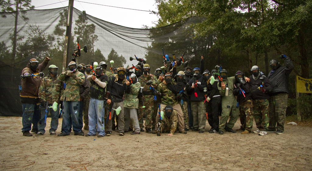 Autoline Christmas Party Paintball