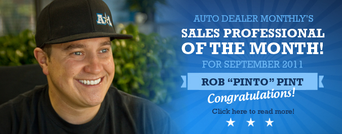 Sales Professional Of The Month