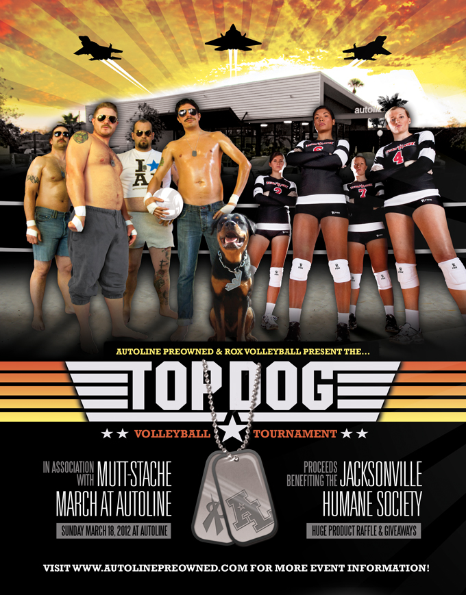 TOPDOG Volleyball Tournament Autoline Preowned