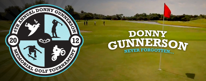 Donny Gunnerson 4th Annual Golf Tournament