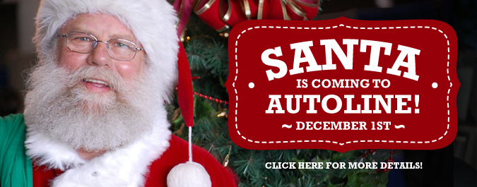 SANTA is coming to Autoline December 1st!