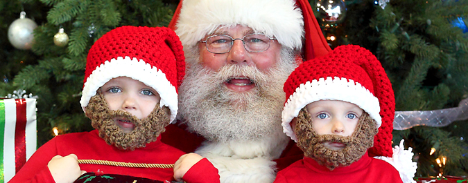 Santa Claus Photos and Video at Autoline!