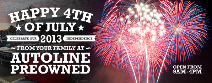 Happy 4th of July from Autoline Preowned!
