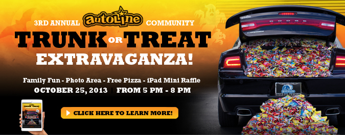 3rd Annual TRUNK-OR-TREAT Extravaganza!