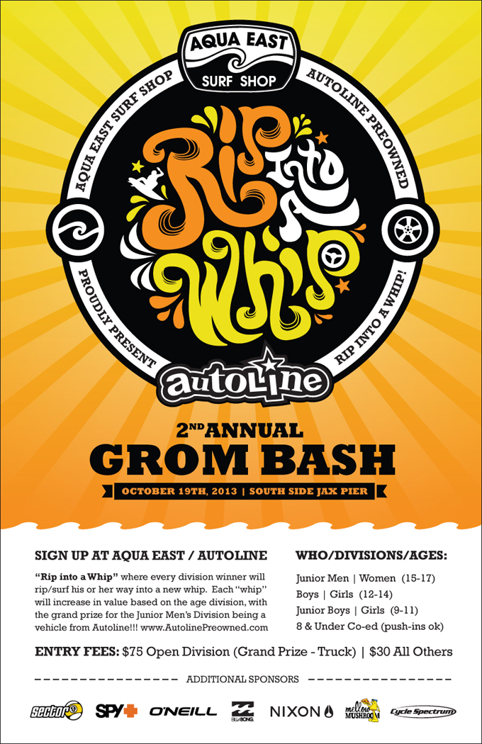 2nd Annual RIP INTO A WHIP Grom Bash