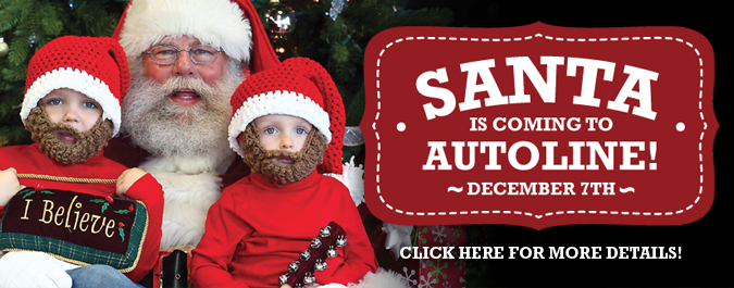Santa Claus is coming to Autoline December 7th!