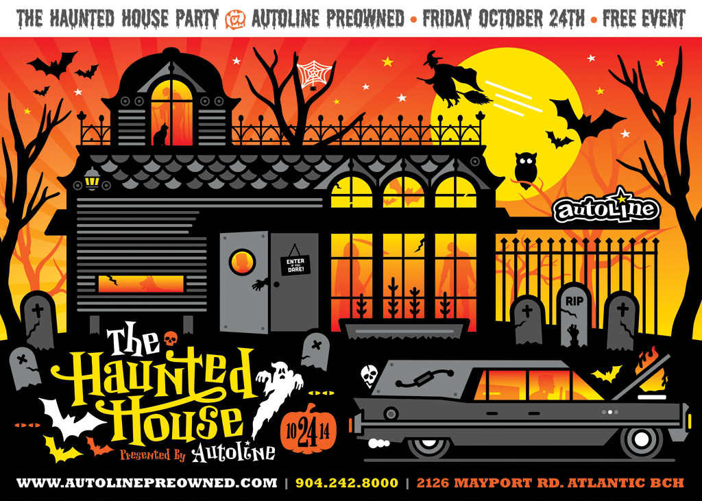 The Autoline Haunted House Party – 10 24 14