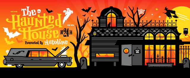 The Autoline Haunted House Party – 10.24.14