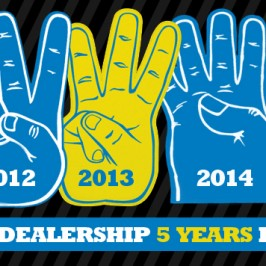 FIVE FOR FIVE!!! Autoline is the #1 Car Dealership in the 904