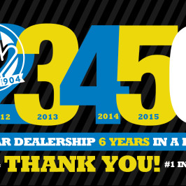 Autoline is #1 Dealer in the 904 Six Years Straight!