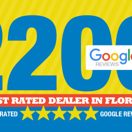 Highest Rated Dealer 2200 5 Star Reviews