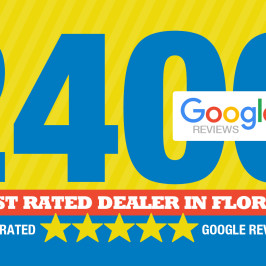 Highest Rated Dealer 2400 5 Star Reviews